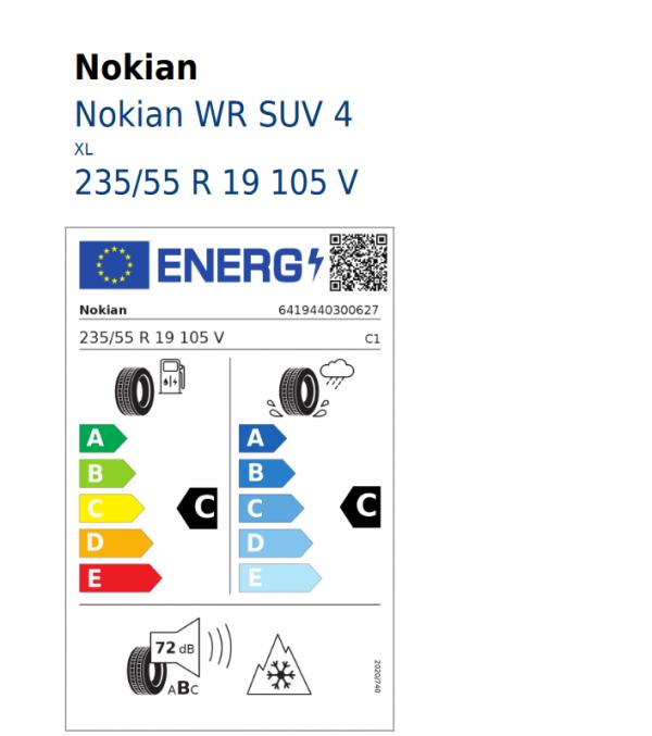 4x Winterräder Reifen Volvo XC60 ab 2018- 235/55 R19 105V Nokian 11111822