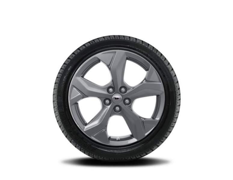 1x Satz Ford Mustang Mach-E Winterräder alu silber ab 10/2020- 225/60 R18 104V Goodyear 2485238