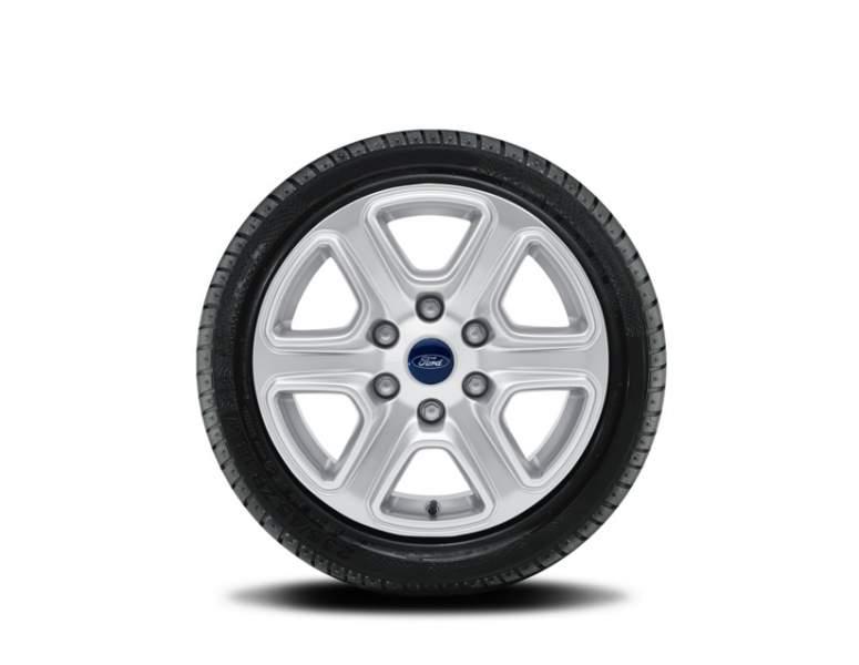 1x Satz Ford Ranger Winterräder alu silber ab 25.02.2019- 265/65 R17 116H Nokian 2419341