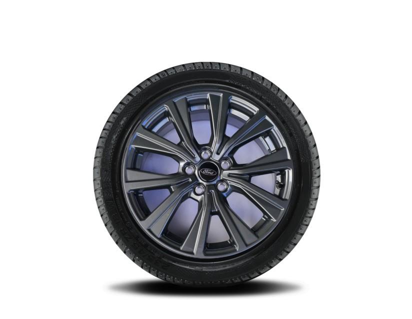 1x Satz Ford Puma + Puma ST Winterräder (Reifen + Felge) Alu silber ab 09/2019 215/55 R17 98V Semperit 2485210
