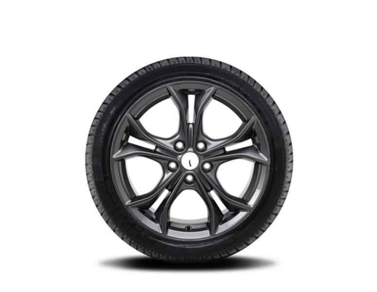 1x Satz  Ford Focus + Focus ST Winterräder alu silber ab 04/2018- 215/50 R17 95H XL Nokian 2536218