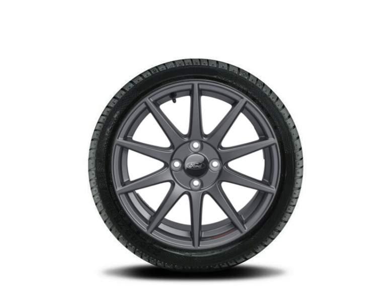 1x Satz Ford Fiesta Winterräder (Reifen + Felge) Alu anthrazit ab Bj. 05/2017 205/45 R17 88V XL Semperit 2538205
