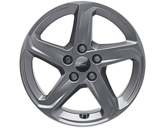 1x Satz Ford Focus Winterräder (Reifen + Felge) Alu silber ab 04/2018 205/60 R16 92H Semperit 2203007