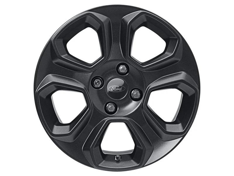 1x Satz Ford Ecosport Winterräder (Reifen + Felge) Alu schwarz ab 10/2017 205/60 R16 92H Semperit 2417961