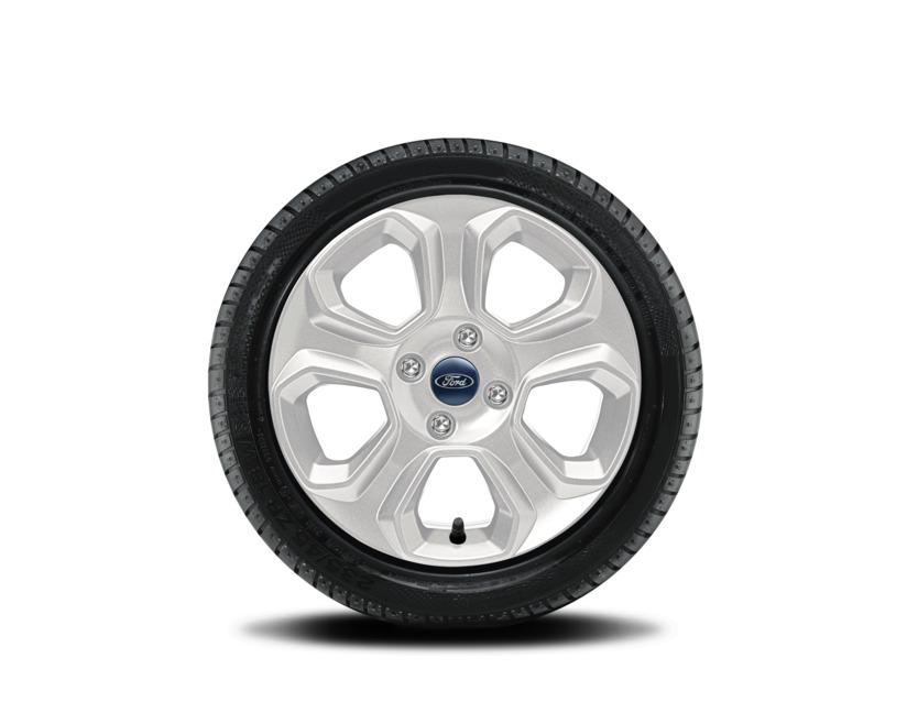 1x Satz Ford Ecosport Winterräder (Reifen + Felge) Alu silber ab 10/2017 205/60 R16 92H Semperit 2538195