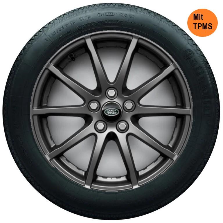 4x Range Rover Land Rover Evoque Winterräder 225/65 R17 Pirelli L551P17 18-9