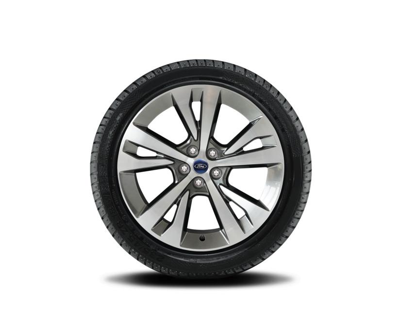 1x Satz Ford Explorer Winterräder (Reifen + Felge) Alu silber ab 09/2019 255/55 R20 110V XL Nokian 2406838