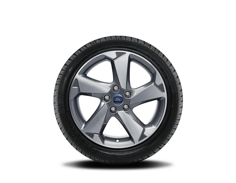 1x Satz  Ford Focus Active Winterräder (Reifen + Felge) Alu silber ab 11/2018 215/55 R17 98H XL Nokian 2485232