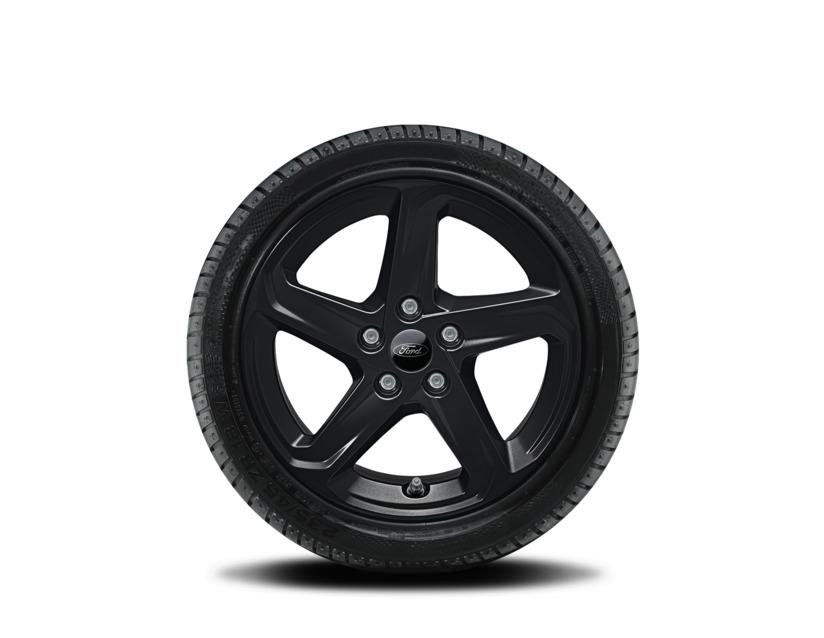 1x Satz Ford Focus Winterräder (Reifen + Felge) Alu schwarz ab 04/2018 205/60 R16 92H 2485222