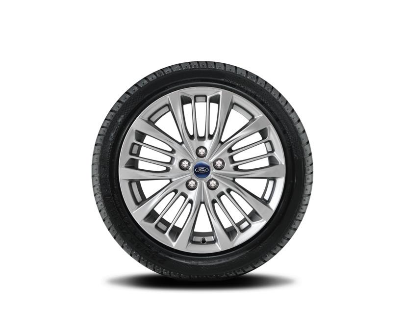 1x Satz Ford Kuga Hybrid Winterräder (Reifen + Felge) Alu silber ab 12/2019 225/60 R18 Nokian 2406731