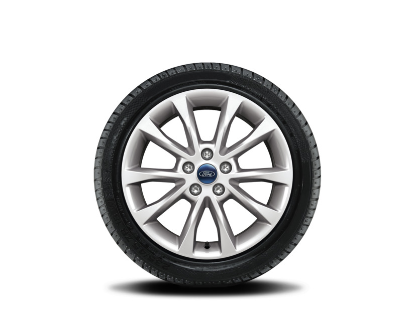 1x Satz Ford Mondeo Winterräder alu silber ab 10/2017- 215/55 R17 98V XL Nokian 2545772