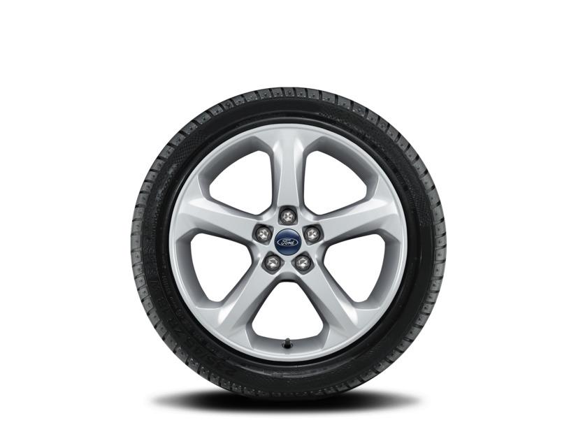 1x Satz Ford Mondeo Winterräder (Reifen + Felge) Alu silber ab 10/2017 235/45 R18 98V Hankook 2485250