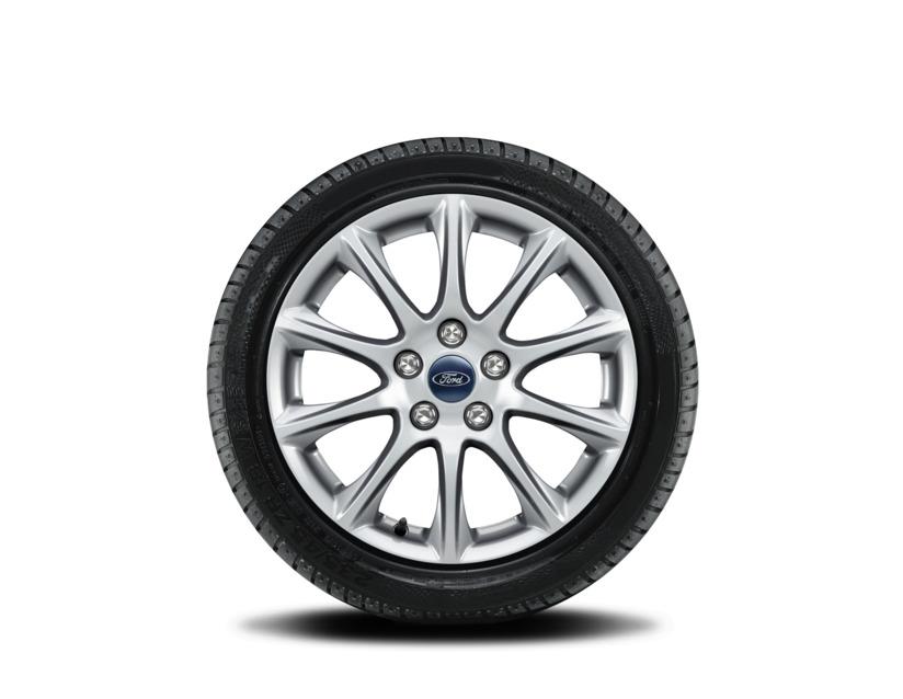 1x Satz Ford Mondeo Winterräder (Reifen + Felge) Alu silber ab 10/2017 215/60 R16 99H Kleber 2282382