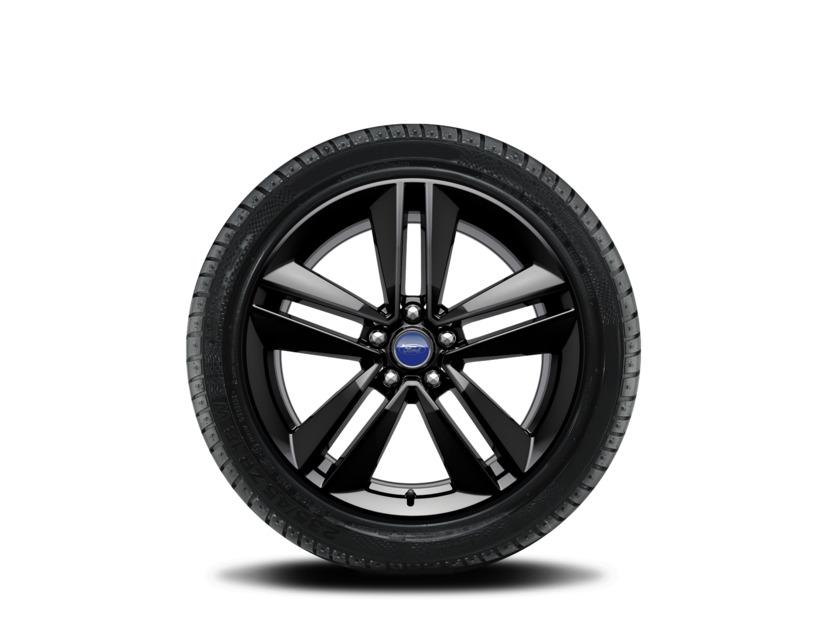 1x Satz Ford Mustang Winterräder (Reifen + Felge) Alu schwarz ab 06/2015 255/40 R19 1923838
