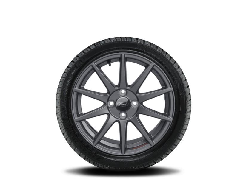 1x Satz Ford Fiesta Winterräder (Reifen + Felge) Alu anthrazit ab 05/17 205/45 R17 88V XL Semperit 2368550