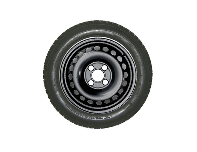 1x Stück Ford Tourneo/Transit Courier Winterrad ab Baujahr 04/2014- Stahl 185/60 R15 88T XL Semperit 2538223