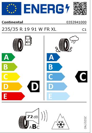 1x Satz Ford Focus RS Winterräder (Reifen + Felge) Alu schwarz ab 09/2014 - 03/2018 235/35 R19 91W 2437753