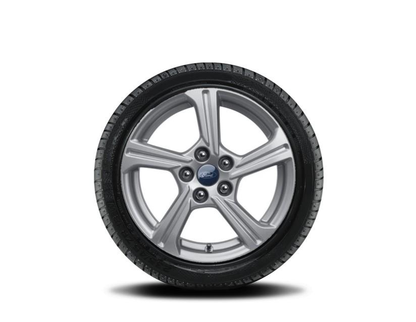 1x Satz Ford Puma Winterräder (Reifen + Felge) Alu silber ab 09/2019 205/65 R16 95H Goodyear 2406808